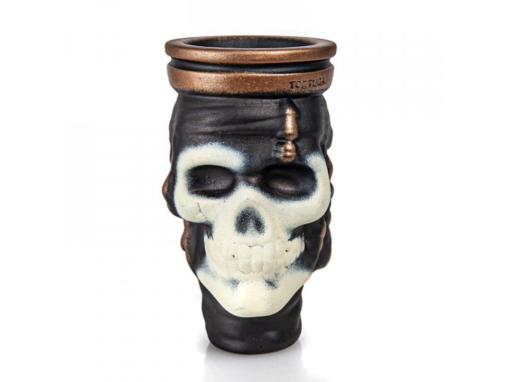Korunka Tortuga Sculpture Black Jack