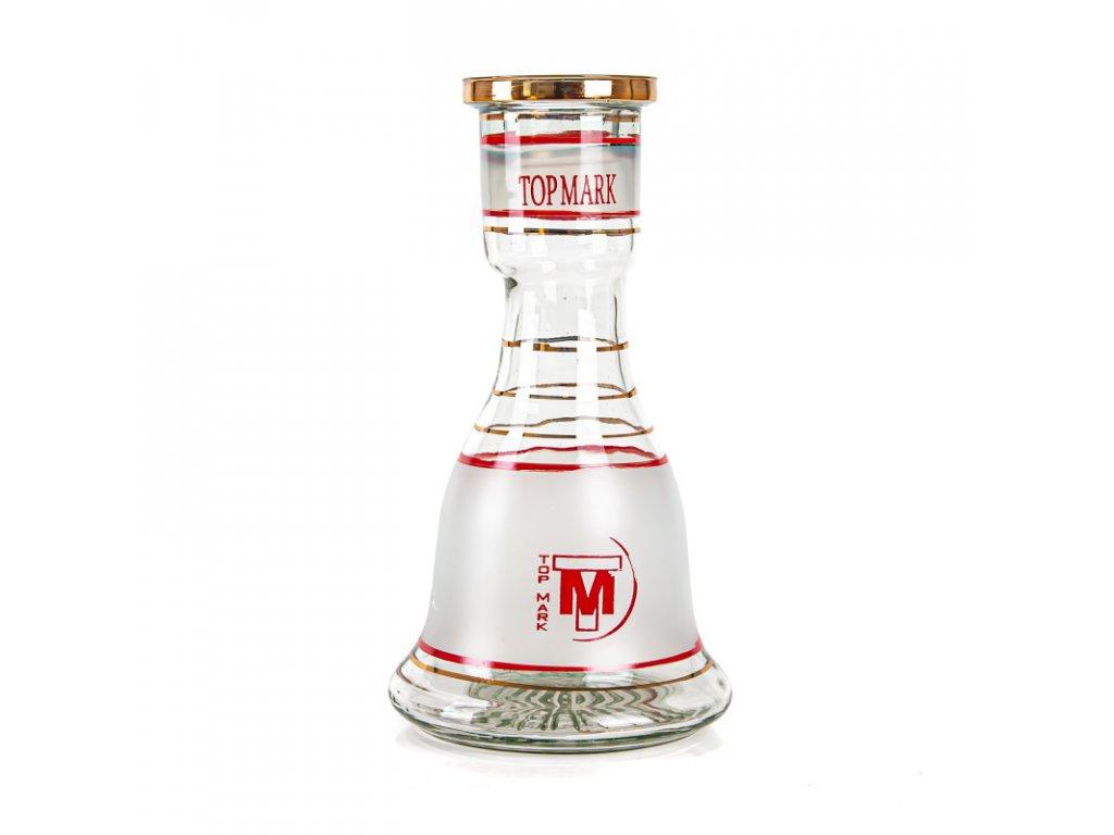 Váza pro vodní dýmky Top Mark Sokar 22 cm bílá