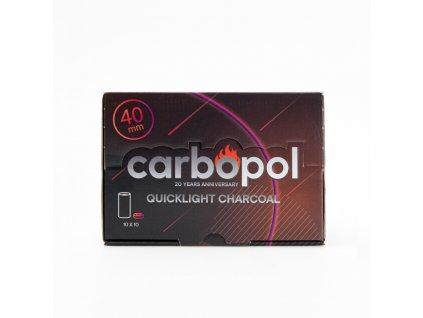 Uhlíky do vodní dýmky Carbopol 40 mm KR 1 x 10