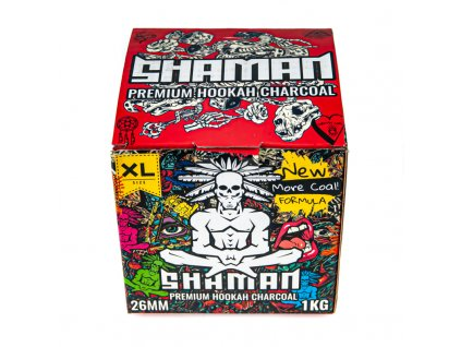 Uhlíky do vodní dýmky Shaman 26 mm 1 kg