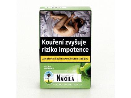 Tabák Nakhla Silky Greeny 10 g