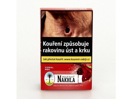 Tabák Nakhla Coral Red 10 g