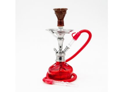 Vodní dýmka Aladin Minimi 39 cm červená