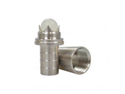 Konektor pro hadici MVP 18.8 mm zábrus s kuličkou