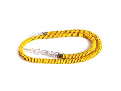Hadice pro vodní dýmky Top Mark Sagira 145 cm žlutá
