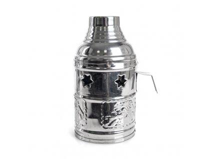 Tarbuš pro vodní dýmky Top Mark 16 cm stříbrný