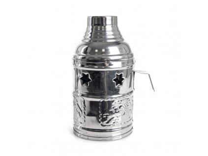 Tarbuš Top Mark 16 cm stříbrný