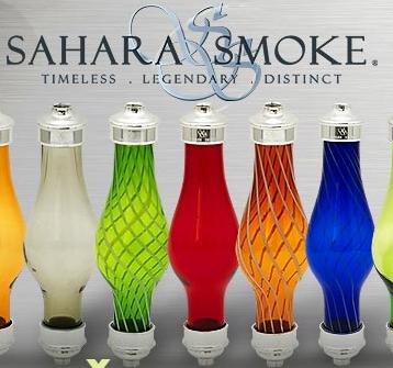 Sahara Smoke skleněná těla