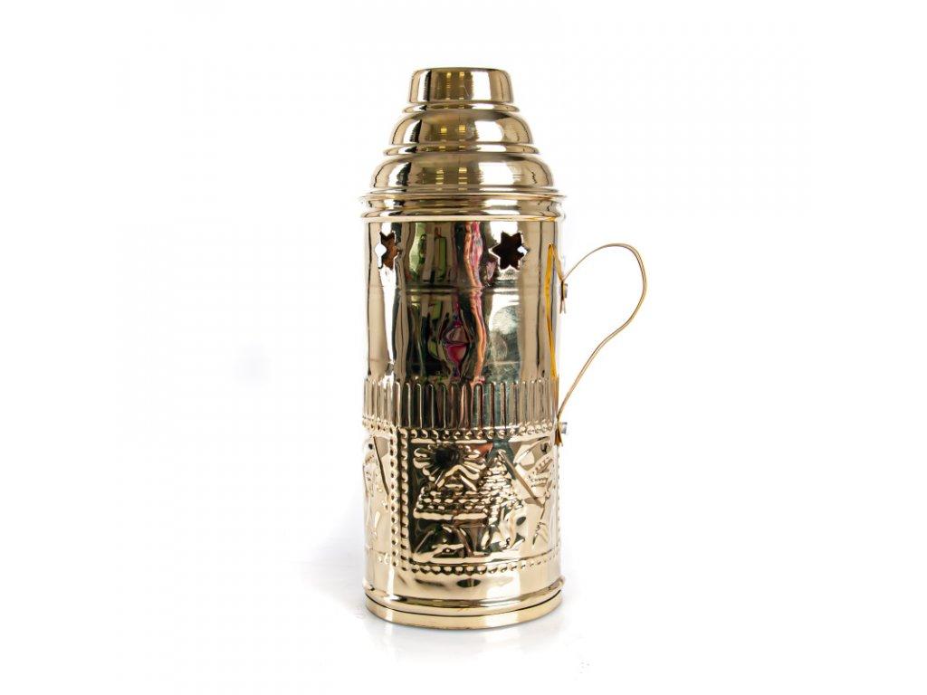 Tarbuš pre vodné fajky Top Mark 18 cm zlatý