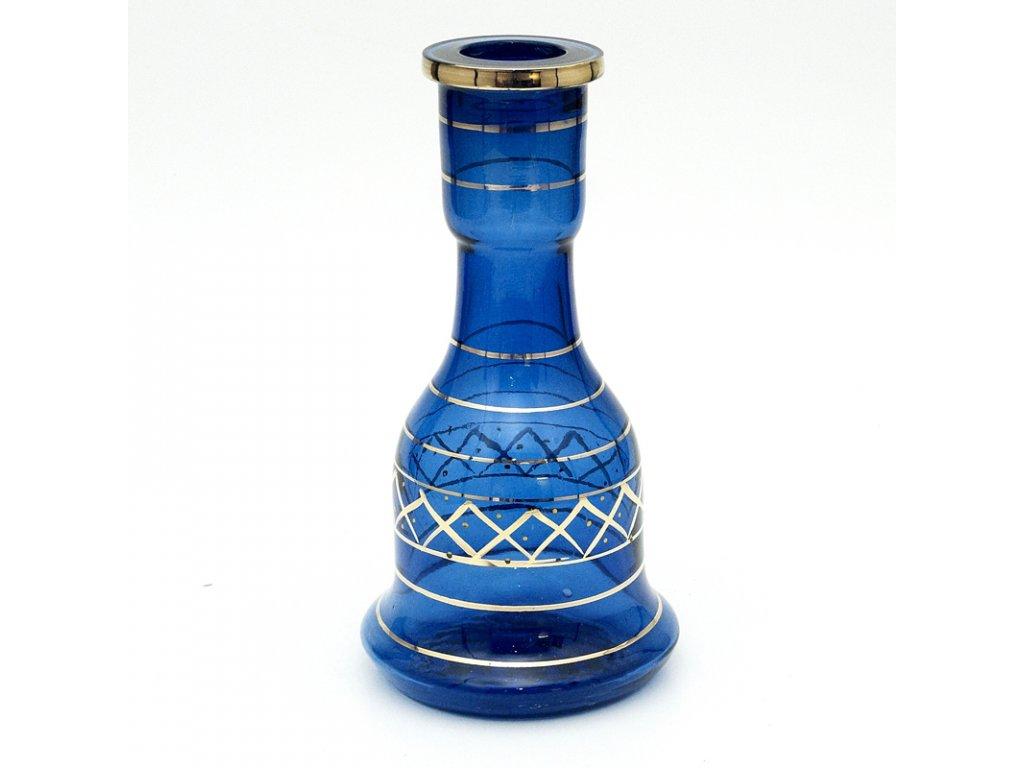Váza pre vodné fajky Top Mark Fateh v2 Gold 30 cm modrá