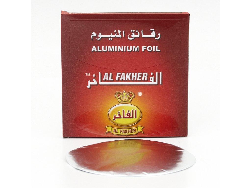 Fólia na korunku pro vodné fajky Al Fakher 35 ks
