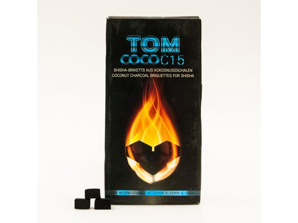 Uhlíky k vodnej fajke Tom Coco 3 kg C15