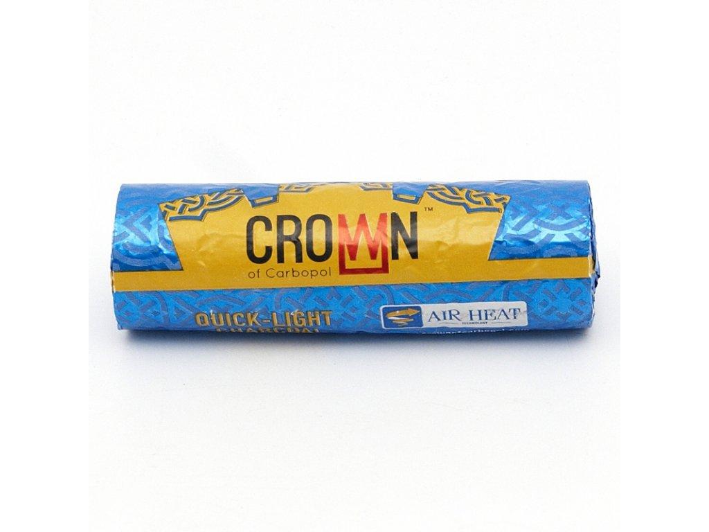 Uhlíky do vodnej fajky Carbopol Crown 40 mm