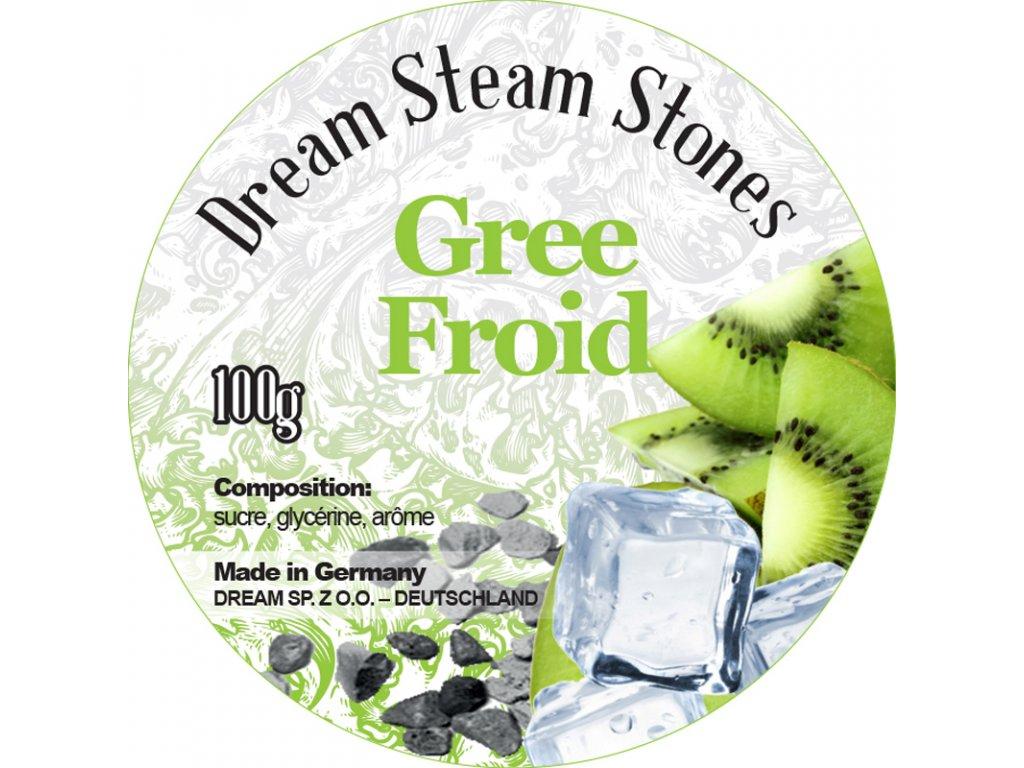 Dream minerálne kamienky Ice Kiwi 100 g