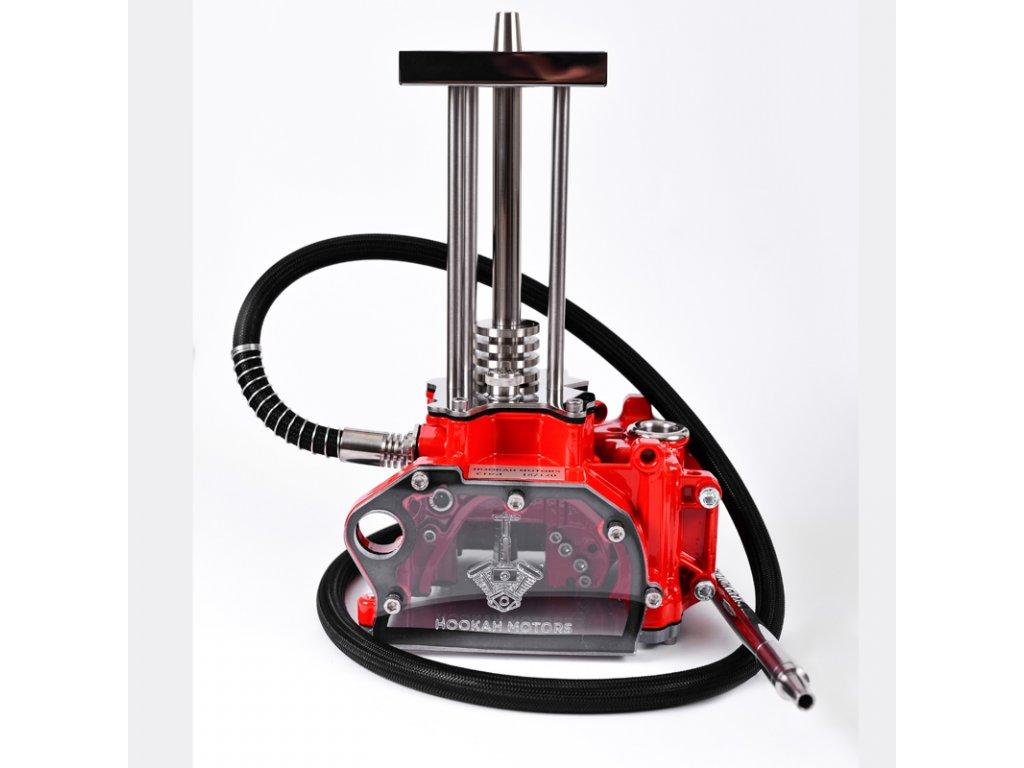 Vodná fajka Hookah Motors Crea Red