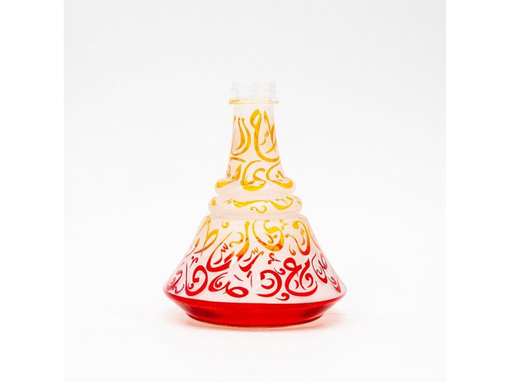 Váza pre vodné fajky Aladin Kairo 30 cm červená