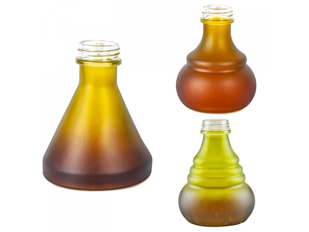 Váza pre vodné fajky Aladin Bogota / Numea 18 cm oranžová