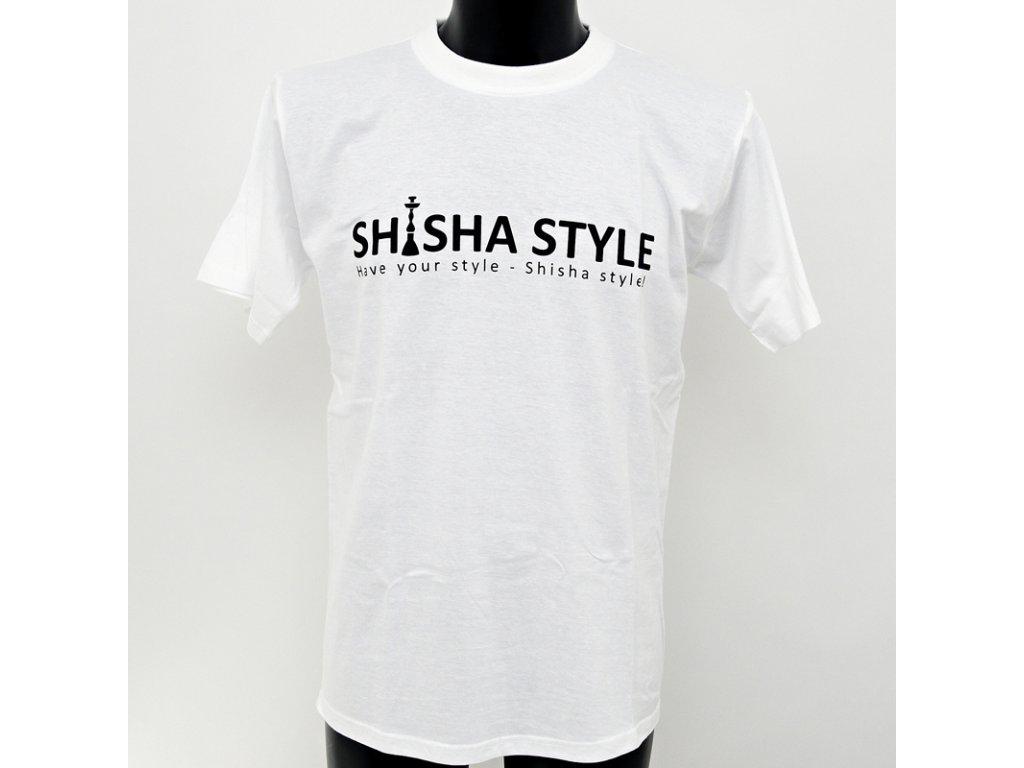 Tričko Shisha Style biela L