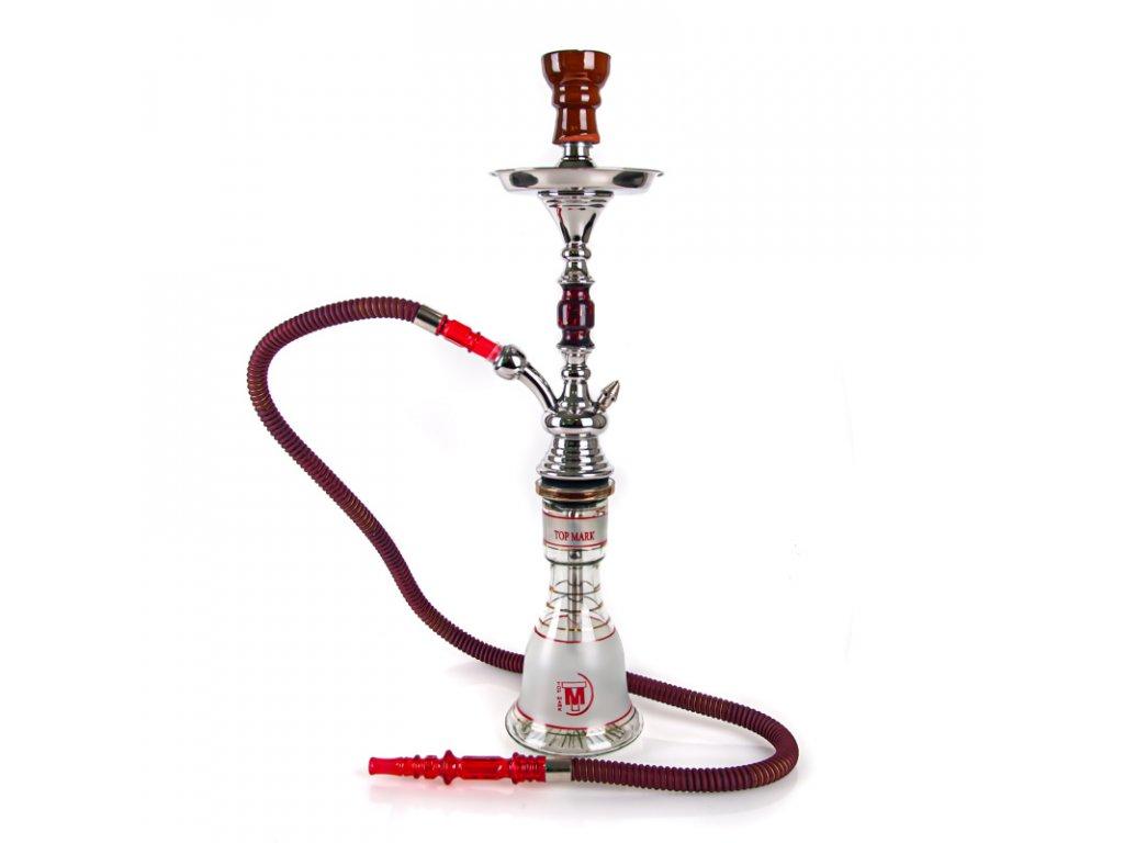 Vodná fajka Top Mark Helwan 54 cm oranžová