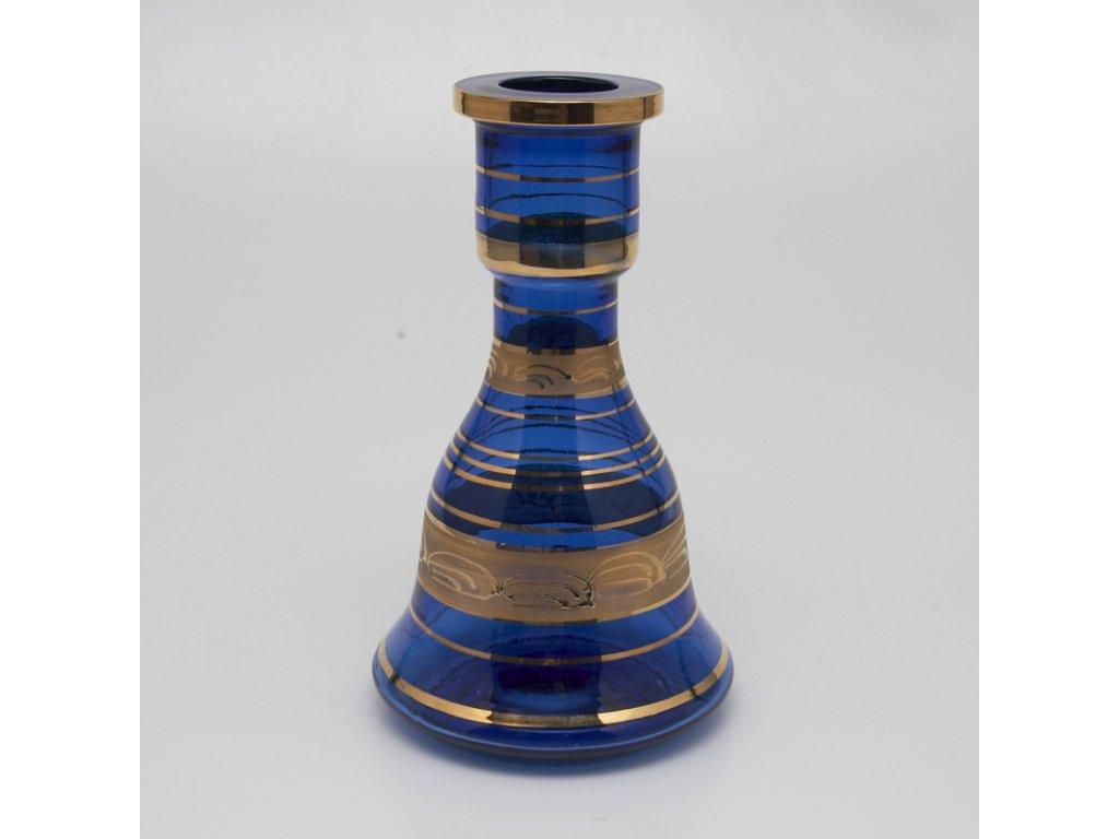 Váza pre vodné fajky Top Mark Sokar Gold 22 cm modrá