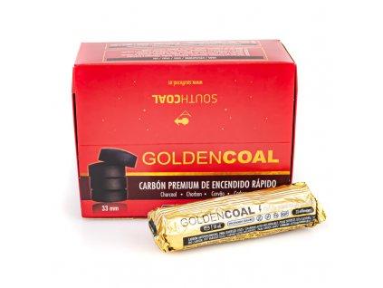 Uhlíky do vodnej fajky Golden Coal 33 mm