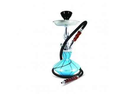 Vodná fajka Sahara Smoke Jinx tyrkysová 38 cm