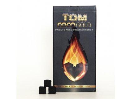 Uhlíky k vodnej fajke Tom Coco 3 kg Gold