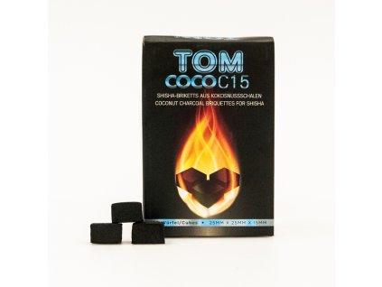 Uhlíky k vodnej fajke Tom Coco 1 kg C15
