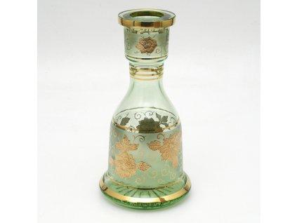 Váza pre vodné fajky Bohemian BJ Jafar Crystal zelená
