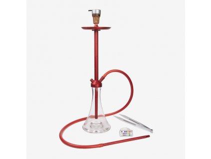 Vodná fajka marvin vol. 2 ALU Red - Full