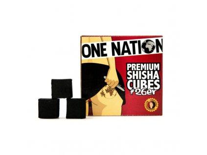 Uhlíky k vodnej fajke One Nation 26 mm 1 kg