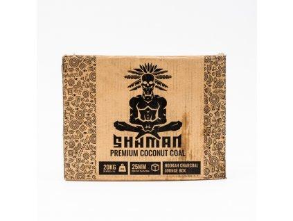 Uhlíky k vodnej fajke Shaman 25 mm 20 kg