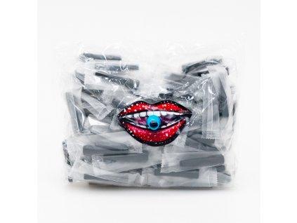 Hygienický náustok SmokyTwo 5,2 cm IN Black 100 ks