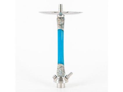 Vodná fajka FOX Wood 2.0 Hybrid Blue Turquoise