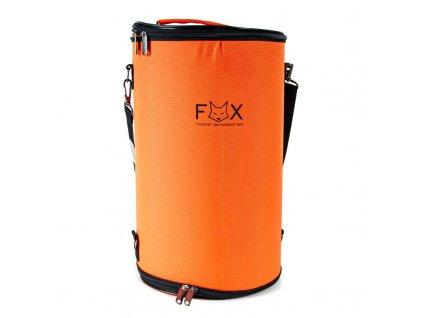 Bag pre vodné fajky FOX Tube 43 cm oranžová