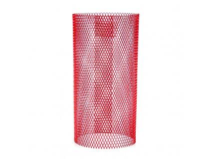 Bezpečnostná mriežka na uhlíky Classic červená