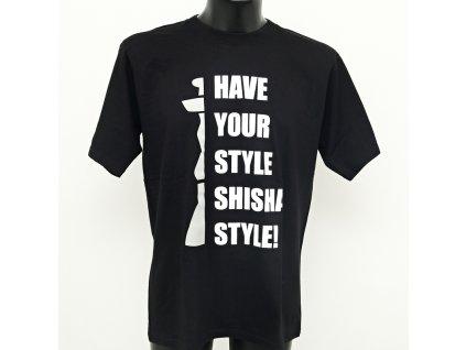 Tričko Have Your Style čierna S
