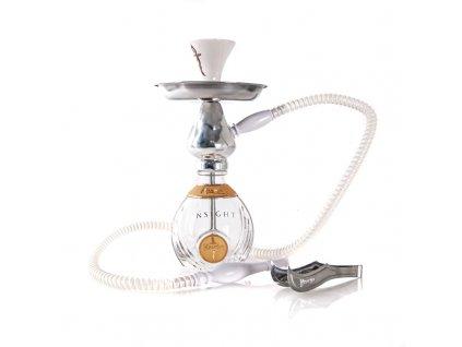Vodná fajka Khanjar Insight číra 33 cm