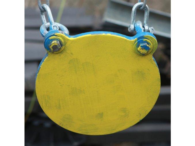 Steel target malý Plate 20cm