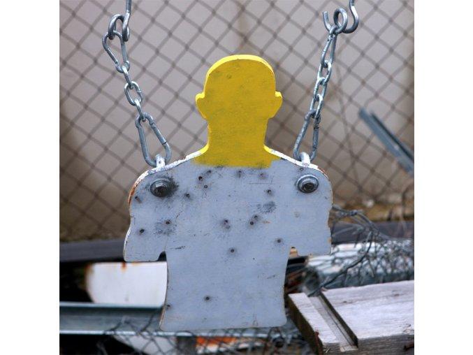 Steel target Mini Torso závěsný