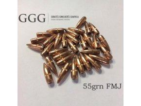 Střela GGG .224 FMJ 55gr