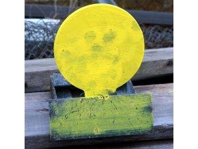 Steel target Plate 20cm Self Reset