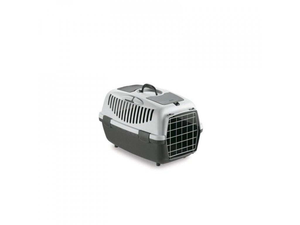 Přepravka pro psy a kočky Gulliver 2, šedá