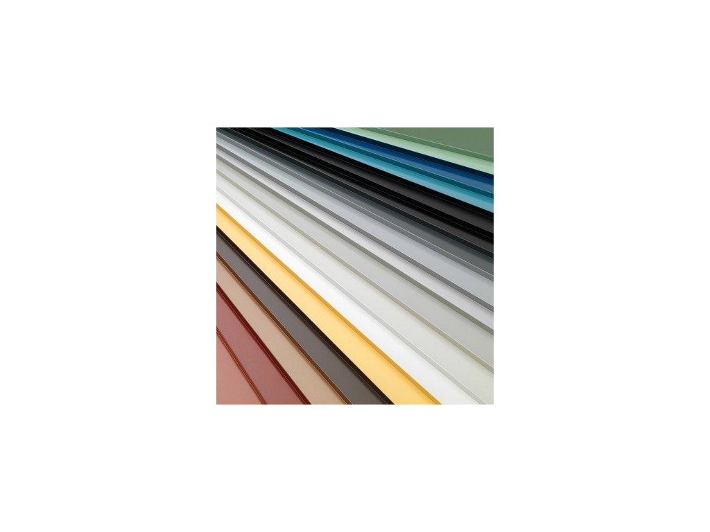 Barvené profilované střešní krytiny