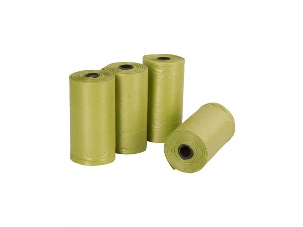 kerbl sacky na psi trus eko plast 4 role