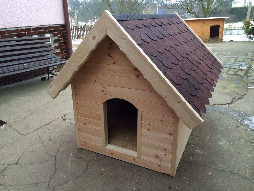 Psí bouda Bertík, šindelová střecha