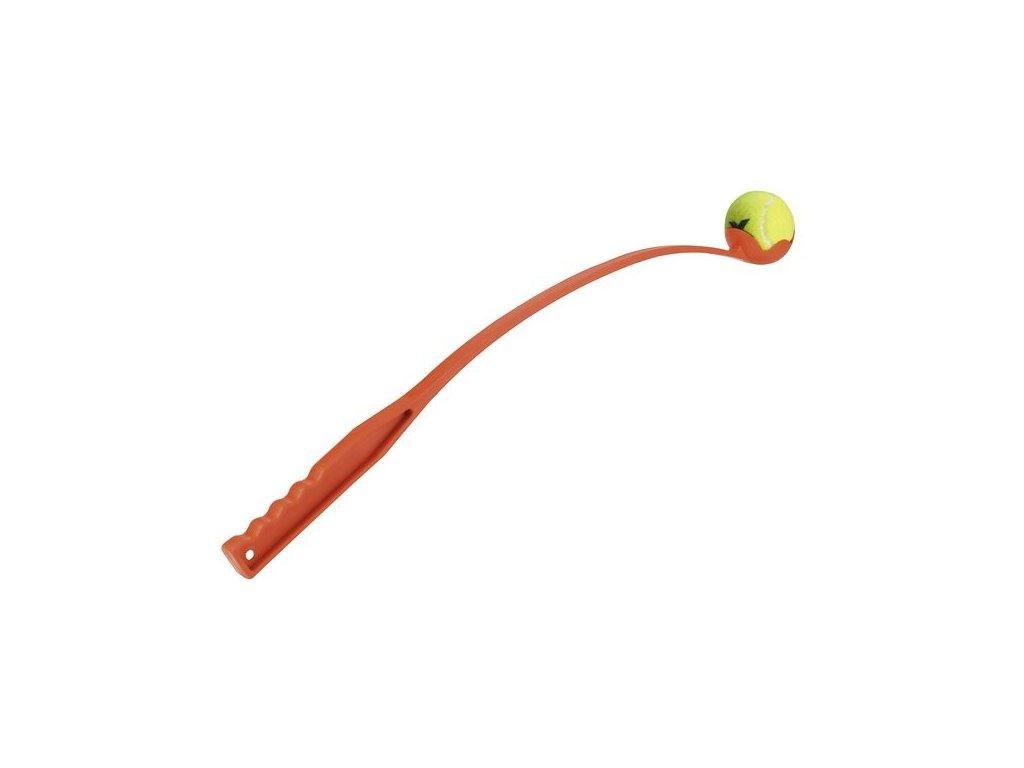 Katapult s míčkem