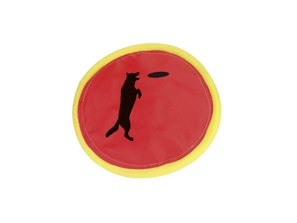Hračka pro psy aportovací Frisbee - talíř házecí 24 cm