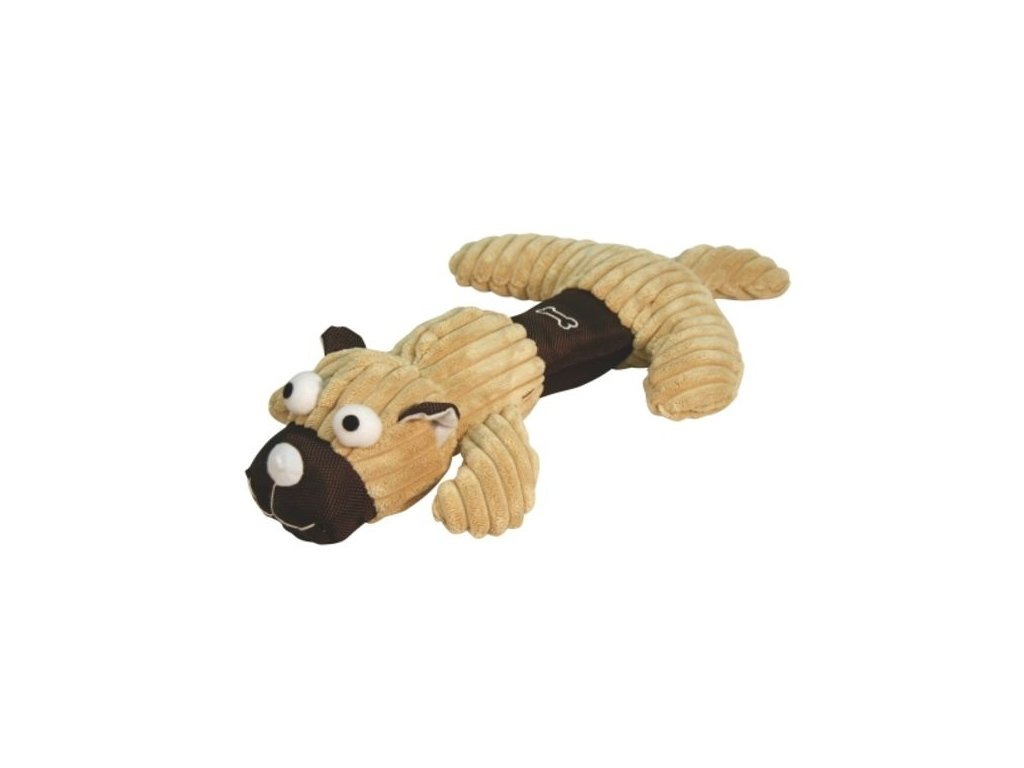 Hračka pro psy pískací - medvěd/prase/pes, 35 cm