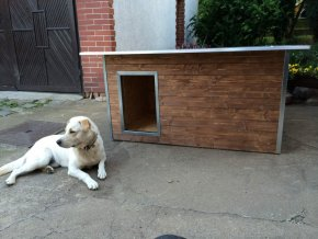 psí bouda rozárka large kaštan